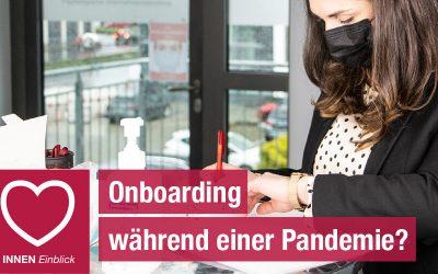 Onboarding während einer Pandemie?