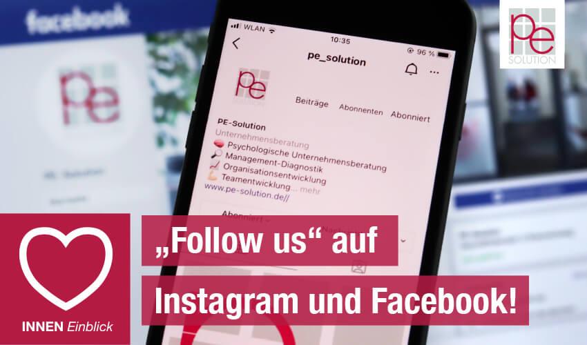 """""""Follow us"""" auf Instagram und Facebook!"""